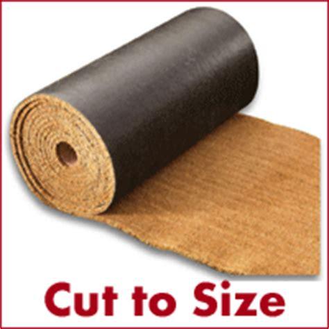 Coir Doormat Cut To Size by Doormats Uk Buy Doormats From Make An Entrance