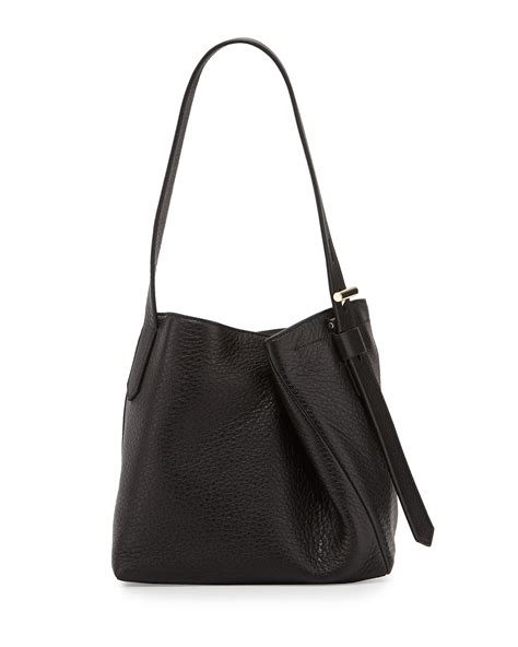 Asymmetric Buckle Bag In The Style Of Mischa Barton By Asos by Reed Krakoff Krush Asymmetric Nappa Leather Tote Bag In