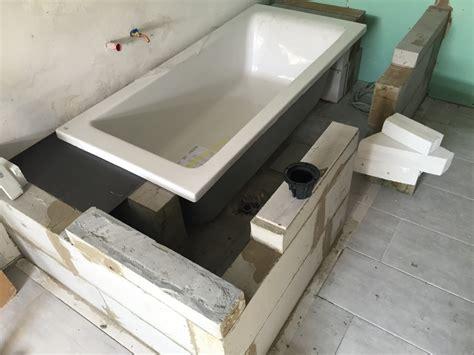 vasca da bagno muratura foto vasca muratura di costruzioni moderne 268699