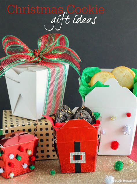 cookie gifts ideas cookie gift ideas food containers