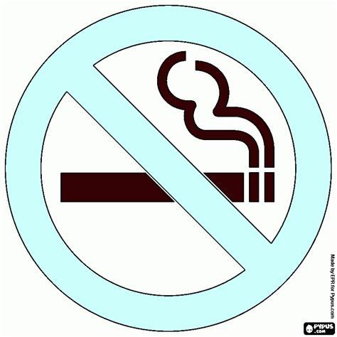 dibujos para cartel cartel no fumar para colorear cartel no fumar para