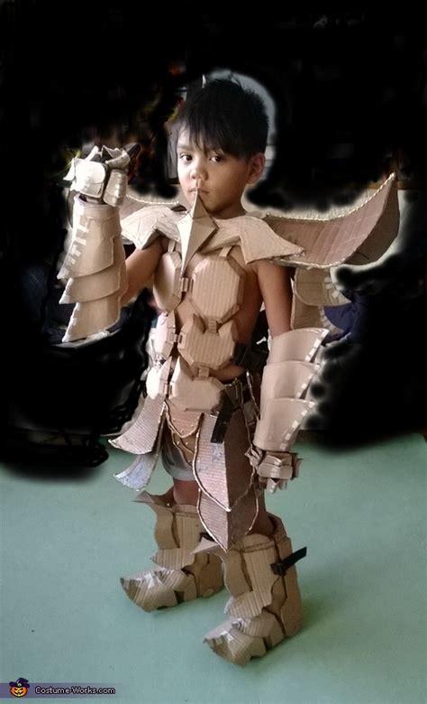 mech samurai warrior costume photo