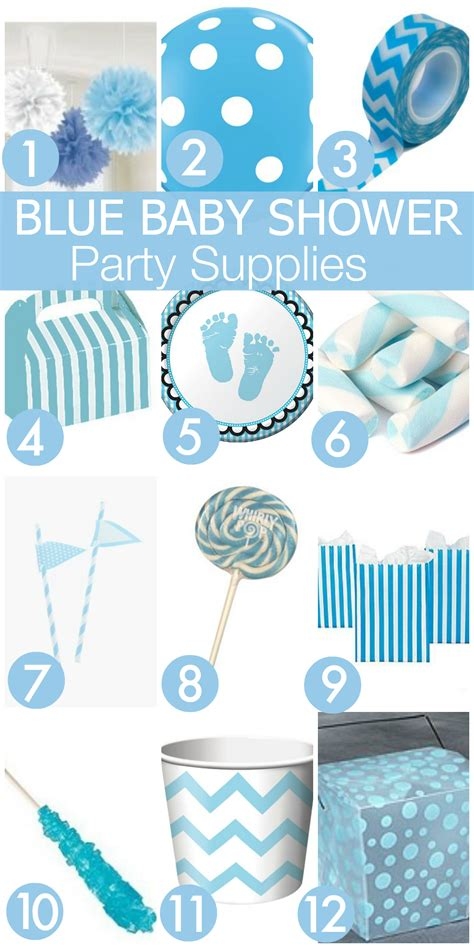 Baby Shower Store by 7 Must Haves For Your Blue Baby Shower Catch