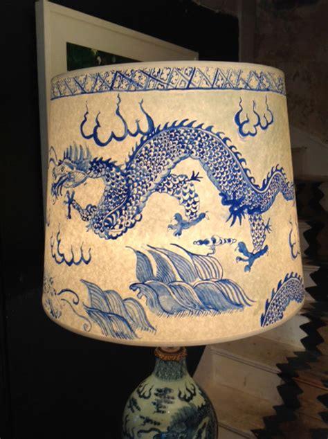 Home Interiors Mirrors Chinese Ceramic Blue Amp White Vase Standing Lamp Amp Hand