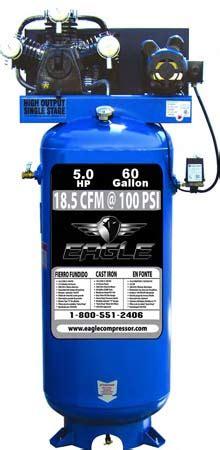eagle cv electric stationary air compressor