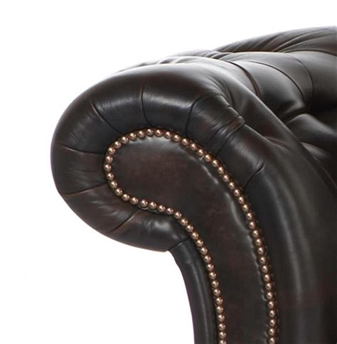 90 inch leather sofa cisco brothers edith regency feather black
