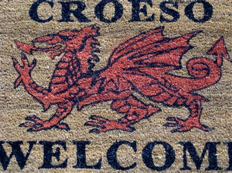 Croeso Doormat by Doormat Gifts And Crafts