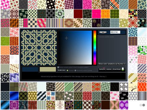 Seamless Pattern Design Software   creating textures with patterncooler