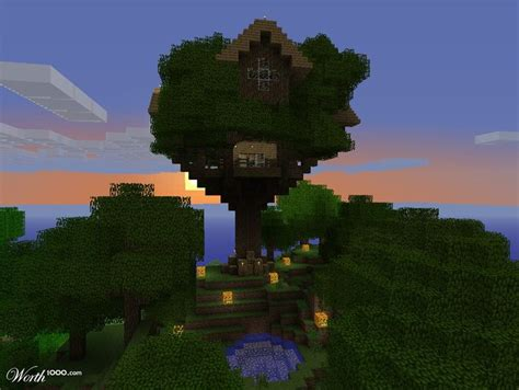 how to make a cool treehouse in minecraft discover and save creative ideas