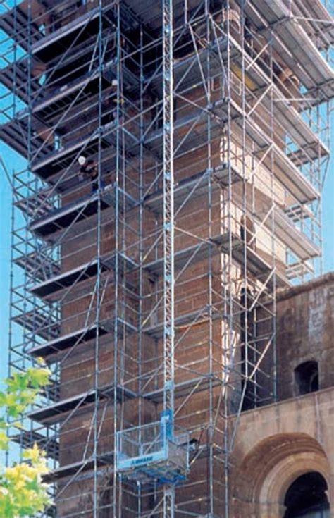 montacarichi a cremagliera elevatore a cremagliera mb500 120 edilmaco