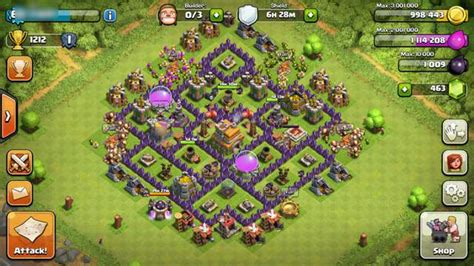 coc good layout clash of clans builder 10 best layout strategies