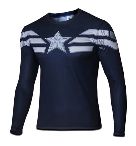 T641 Shirt New Captain America 09 s winter soldier captain america t shirt g like