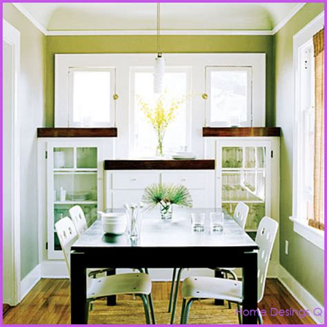 Small Dining Room dining for small spaces home design homedesignq com