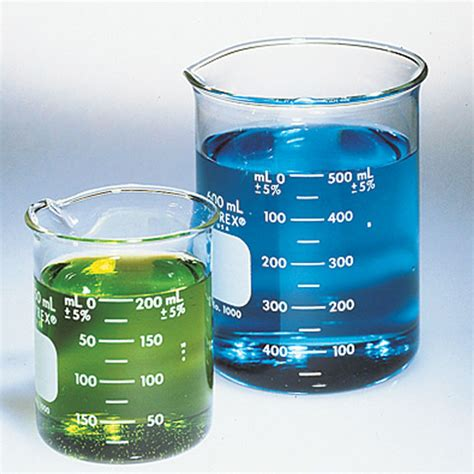 pyrex brand 1000 griffin low form beaker 150 ml 12 pk from