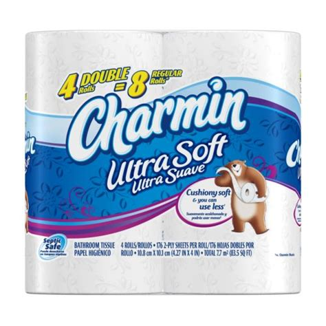 Who Makes Charmin Toilet Paper - save 0 16 charmin ultra soft toilet paper 4