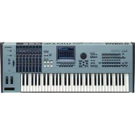 Keyboard Yamaha Motif yamaha motif xs6 keyboard workstation used at gear4music