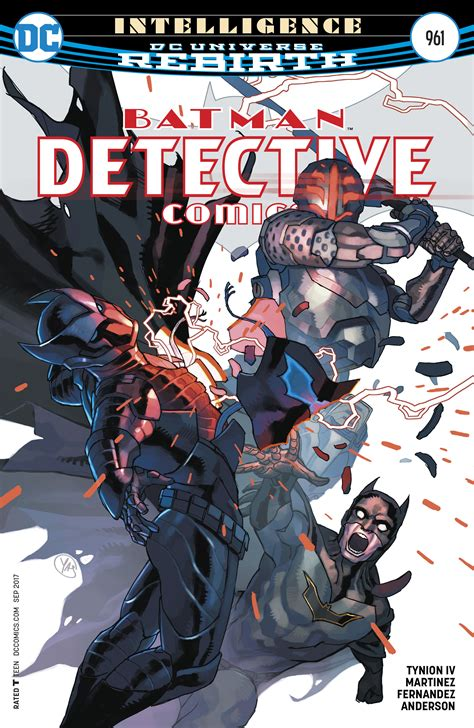 dc comics rebirth spoilers detective comics 961 has dc