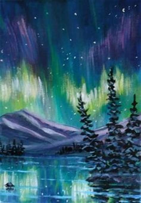 northern lights painting for sale 1000 images about paintings northern lights on