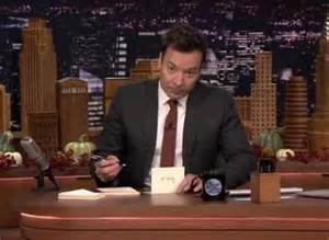 jimmy fallon pens thank you notes to one news page us
