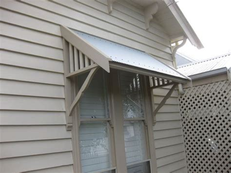 timber awning wood metal window awning briggs porch exterior pinterest