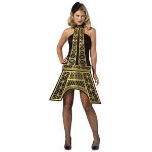 womens eiffel tower dress france paris world fancy dress