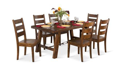 mahogany tuscany table   side chairs hom furniture
