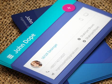 card materials paper material business card by ingenious artist dribbble