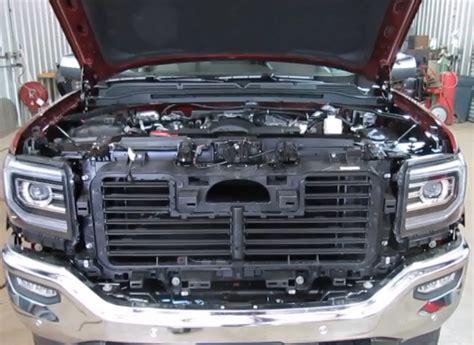 2016 silverado light bar behind grill remove 2015 silverado grill autos post