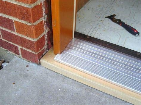 replacing exterior door threshold writersplanet org