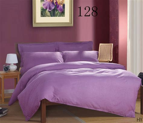 purple cotton comforter purple cotton satin stripe 1pcs duvet cover comforter