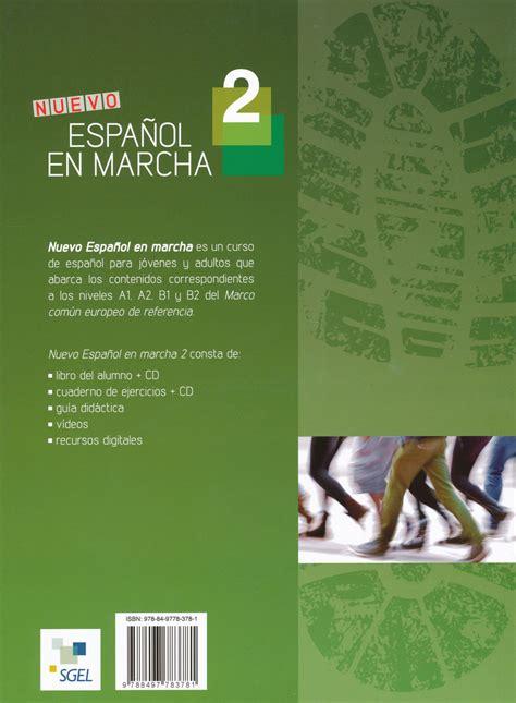 libro talk spanish 2 book cd nuevo espanol en marcha 2 libro del alumno con cd audio curso de espanol como lengua