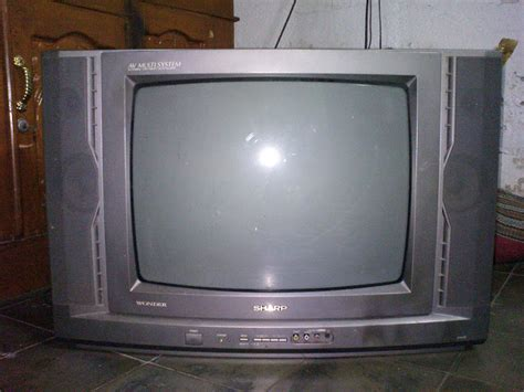 Komponen Tv Sharp aisy tv sharp gambar redup