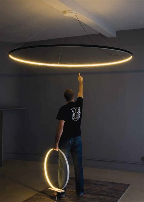 indirect ceiling lighting want this circle pendant led direct indirect light
