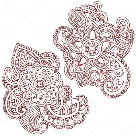 henna tattoo vector bathroom on lotus mandala shower window and