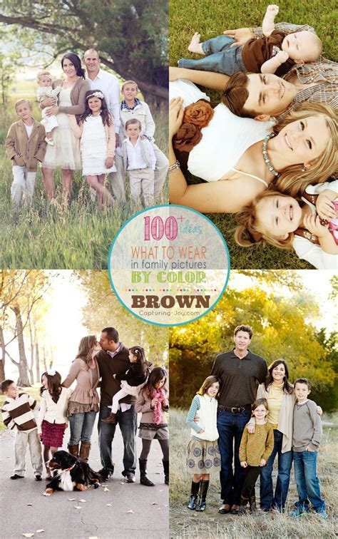 picture clothes  color series brown capturing joy