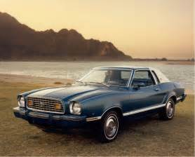 Ford Mustang Ii Ford Rationalizes Mustang Ii As A Idea 40 Years Later