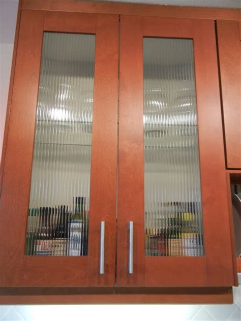 Reed Doors by Custom Reed Glass In Adel Cabinets Hackers