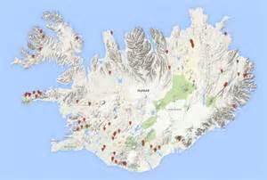 waterfalls in map iceland waterfalls europe world of waterfalls