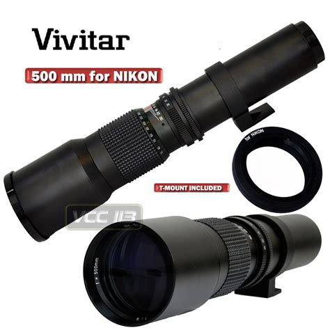lens for nikon d3200 vivitar hd 500mm telephoto f8 0 lens for nikon d3200 d800