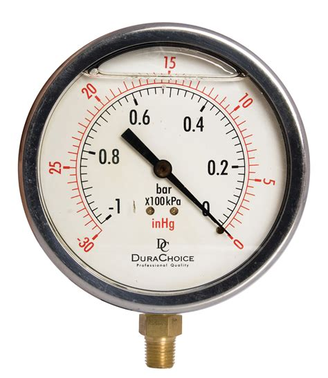 Is There Pressure In A Vacuum 4 Quot Filled Vacuum Pressure Ss Br 1 4 Quot Npt Lower