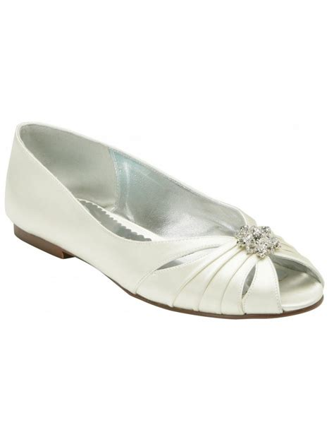 ivory flats wedding shoes limestone ivory silk flat wedding shoes size 41 only