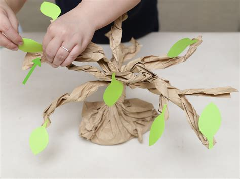 Make A Tree Out Of Paper - 3 ways to make a tree out of paper wikihow