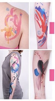 watercolor tattoo omaha 17 best images about on pointillism