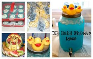 about crafting diy baby boy baby shower ideas