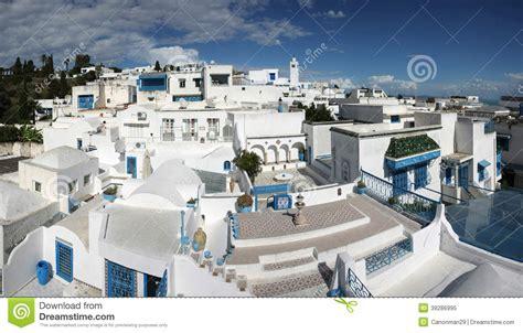 Mediterranean House Plans With Photos sidi bou said panorama stock photo image 39286995