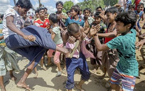 the rohingyas inside myanmar s genocide books un estimates 240 000 children fled burma s rakhine