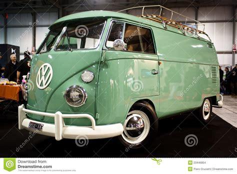 van volkswagen vintage volkswagen vintage van editorial stock image image of