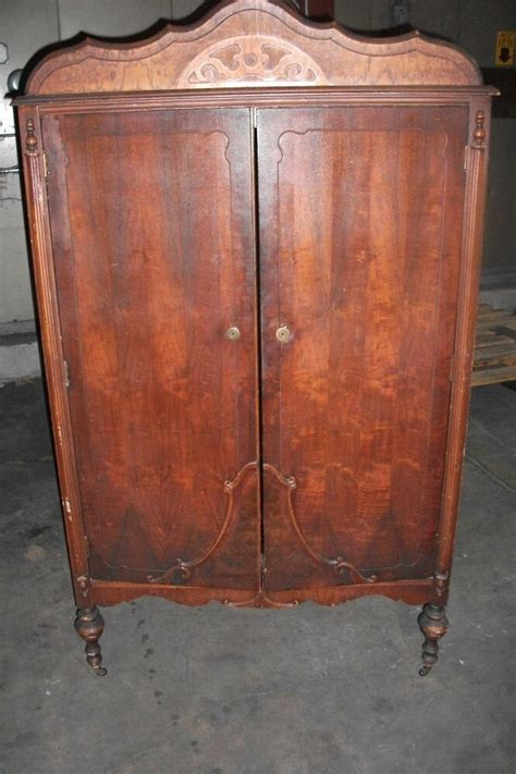 Antique Armoires Wardrobes - antique wardrobe armoire chifferobe dresser closet