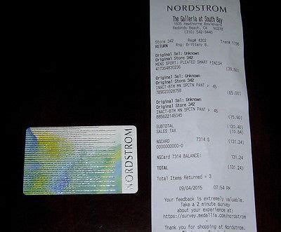 Nordstrom Online Gift Card - nordstrom gift certificates online lamoureph blog
