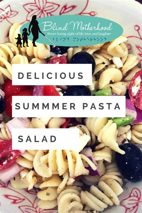 Easy And Delicious Pasta Salad Fun Fit And Fabulous | delicious pasta salad delicious summer pasta salad